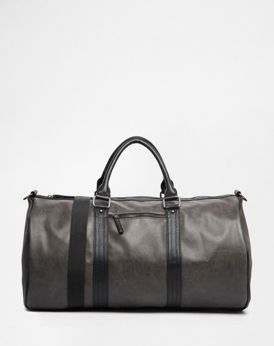 Carryall Bag in Faux Leather