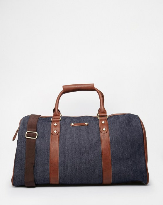 Denim Carryall Bag