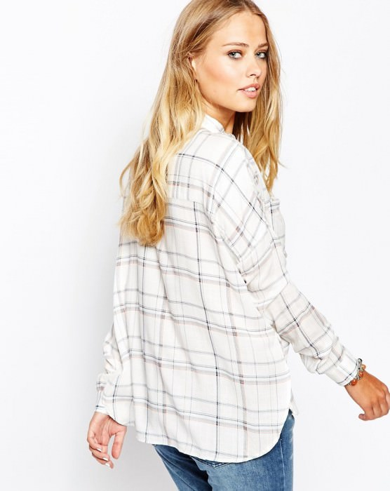 Jeans Light Checked Shirt