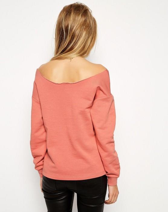 The Off Shoulder Sweatshirt