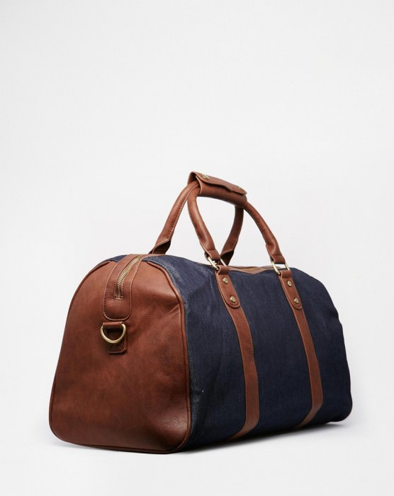 Denim Carryall Bag