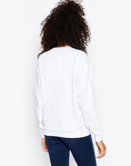 Sweatshirt with Retro Queen Print