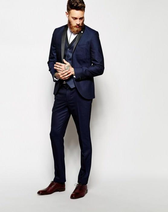 Suit Pants In Skinny Fit